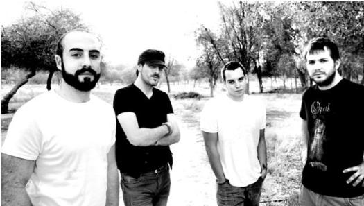 (from left to right)-Nadim Jamal (vocals); Ben Harris (Bass); Jack Skinner (guitars); Greg Cargopoulos (drums)