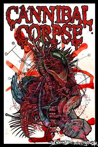 Cannibal Corpse by Tom Denney