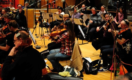 Orchestra recordings for the Nightwish album and movie