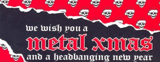 metal christmas playlist 2011 - Christmas Metal