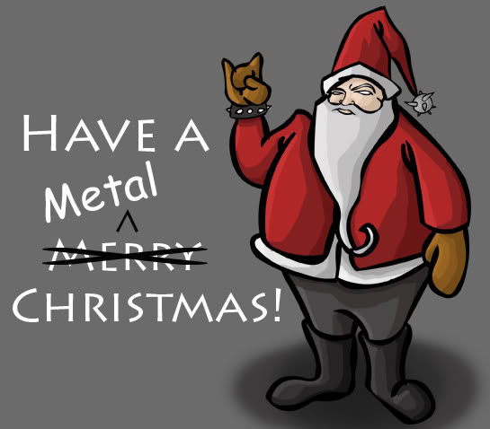 these songs cover genres like heavy brutal symphonic and death metal for guitar fanatics check out these compilations merry axemas guitar christmas - Death Metal Christmas