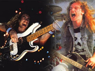 Cliff Burton Vs Steve Harris
