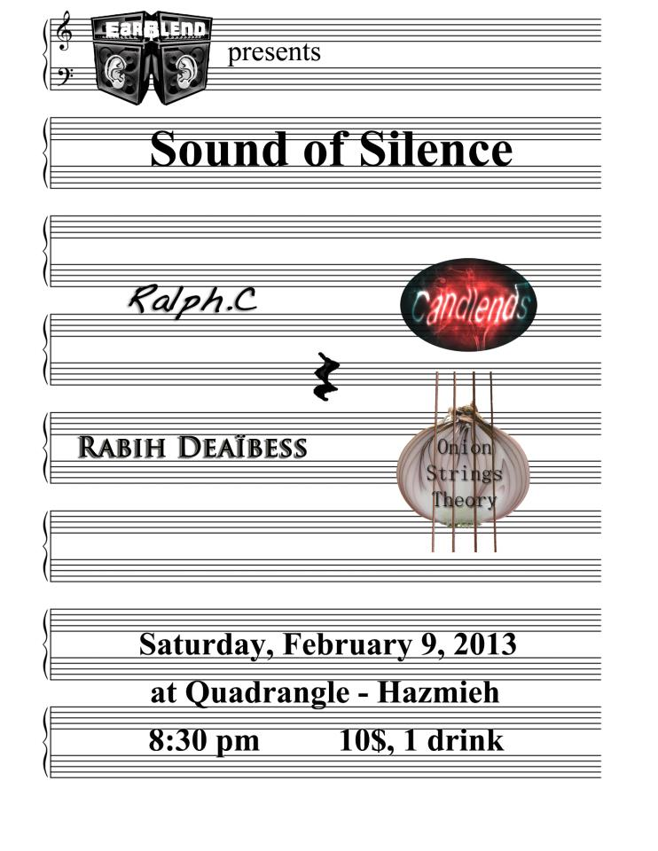 Earblend event (sound of silence)