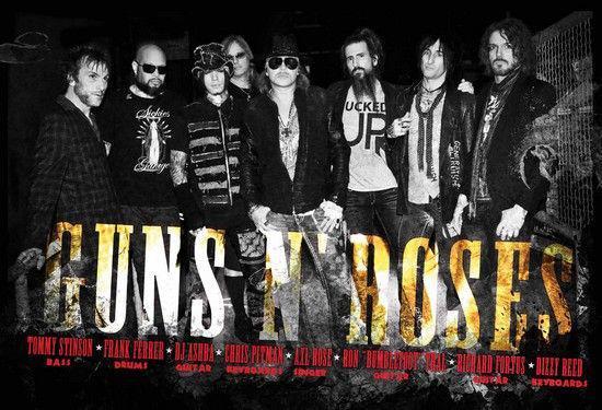Guns N Roses 2013 Members Event | Guns N' Roses ...