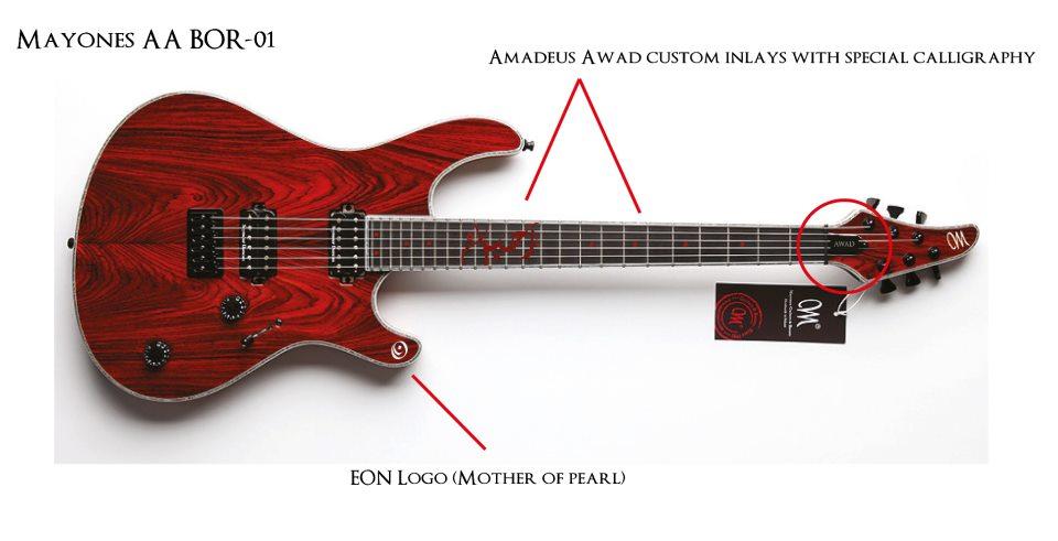 Mayones Guitar AA Amadeus