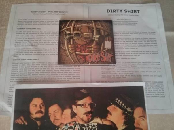 Dirty Shirt Press Kit Metal Music - LebMetal.com