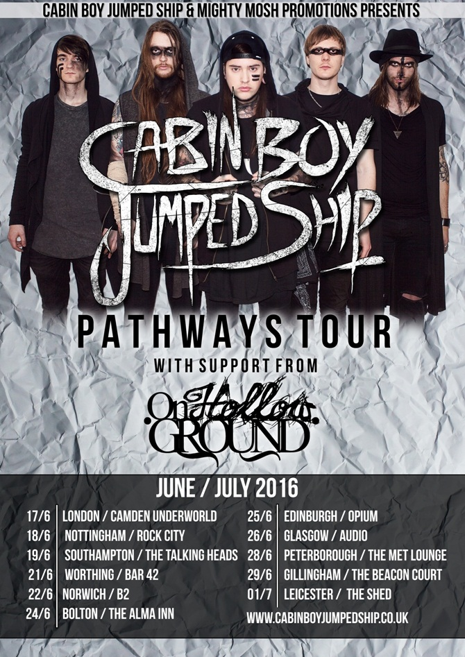 Cabin Boy Jumped Ship tour poster