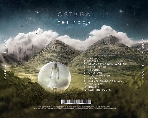 Ostura - The Room (2017) (back)